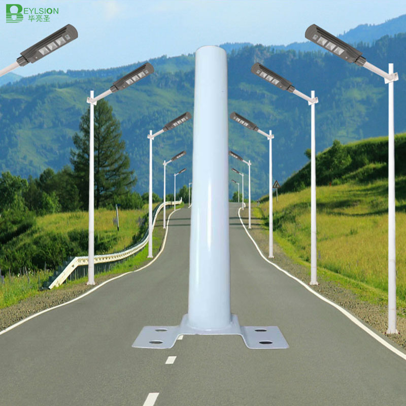 BEYLSION LED Solar Street Light Bracket Solar Street Light Pole Street Light Partsfor Solar Street Light  Garden Yard Wall Light