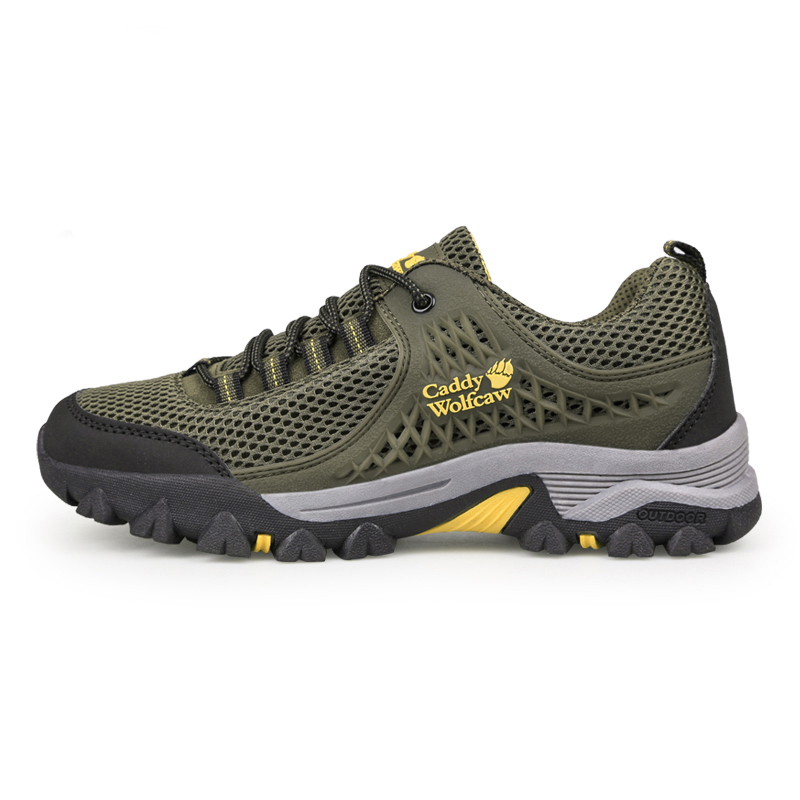 Outdoor Men Trekking Shoes Big Size 11 12 13 Men Hiking Sneakers Sport Shoes Breathable Climbing Mountain Boots Mens Plus Size mans shoes mountain big size brand shoe men sport anti slippery hiking shoes mens good quality outdoor hiking trainers