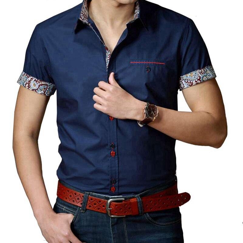 86 plus size big 5XL 6XL 7XL 8XL 9XL 10XL summer men casual shirts navy blue male cheap dress shirts short sleeve Business