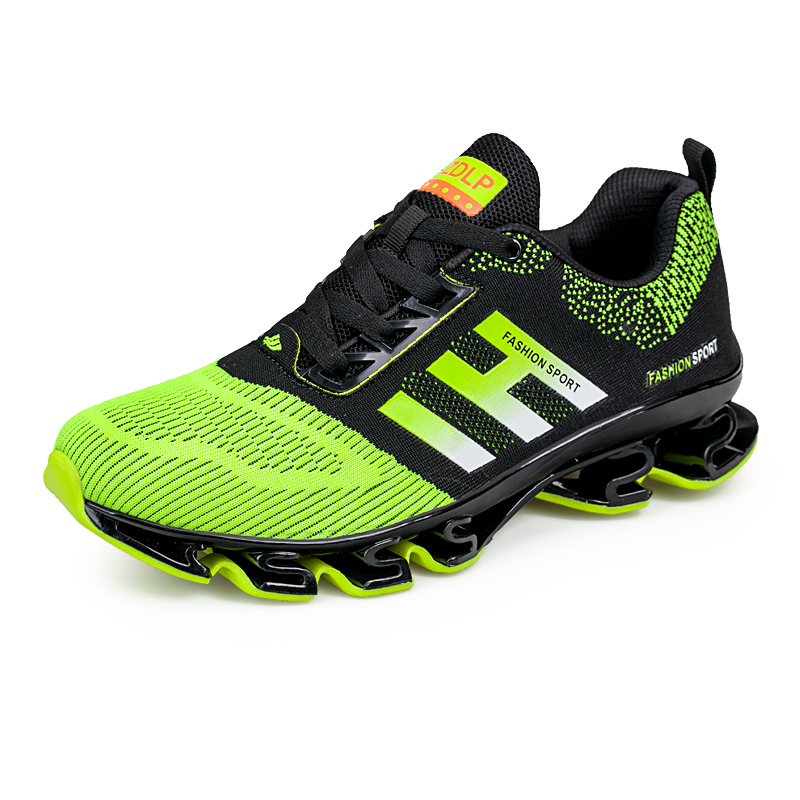 ФОТО New Running Shoes for Men 2016 Black Red Gym Sneakers Athletic Shoes Cool Mens Designer Sneakers New Trend  Training Shoes