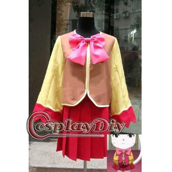 Cosplaydiy Fairy Tail Carla Sharuru Oracion Pink Anime Cosplay Costume Women Dress Custom Made D0919