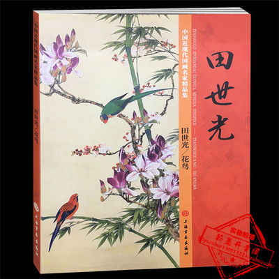 Chinese Painting Book Birds and Flower Painting Gongbi Meticulous Brush Work Art TextbookChinese Painting Book Birds and Flower Painting Gongbi Meticulous Brush Work Art Textbook