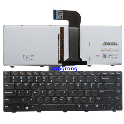 US Keyboard For Dell VOSTRO 3350 3450 3460 3550 3555 3560 V131  Xps 15 L502x English Keyboard With Backlit