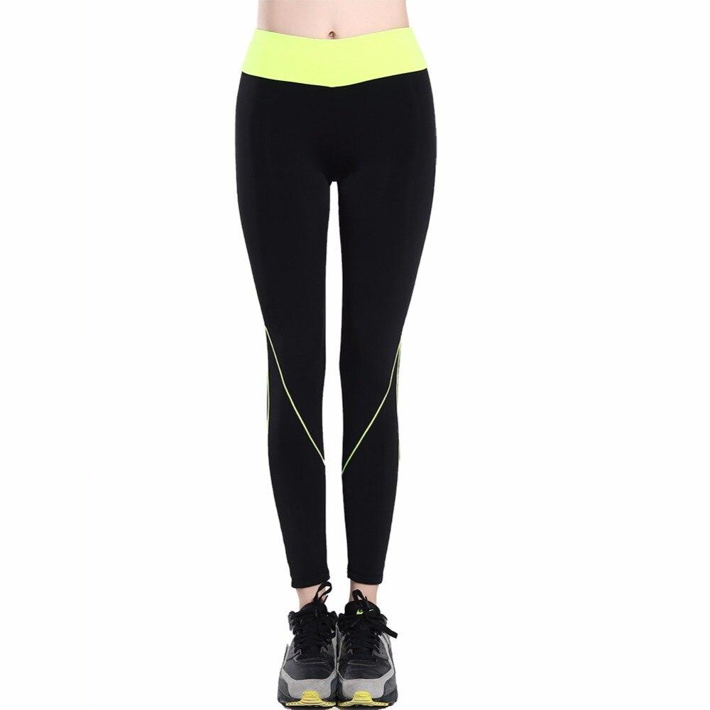 B. bang 2017 fitness femmes courir leggings sport élastique pantalon pour yoga  gym femmes sport de course pantalons collants dans De course Pantalon de ... ffd9722d999