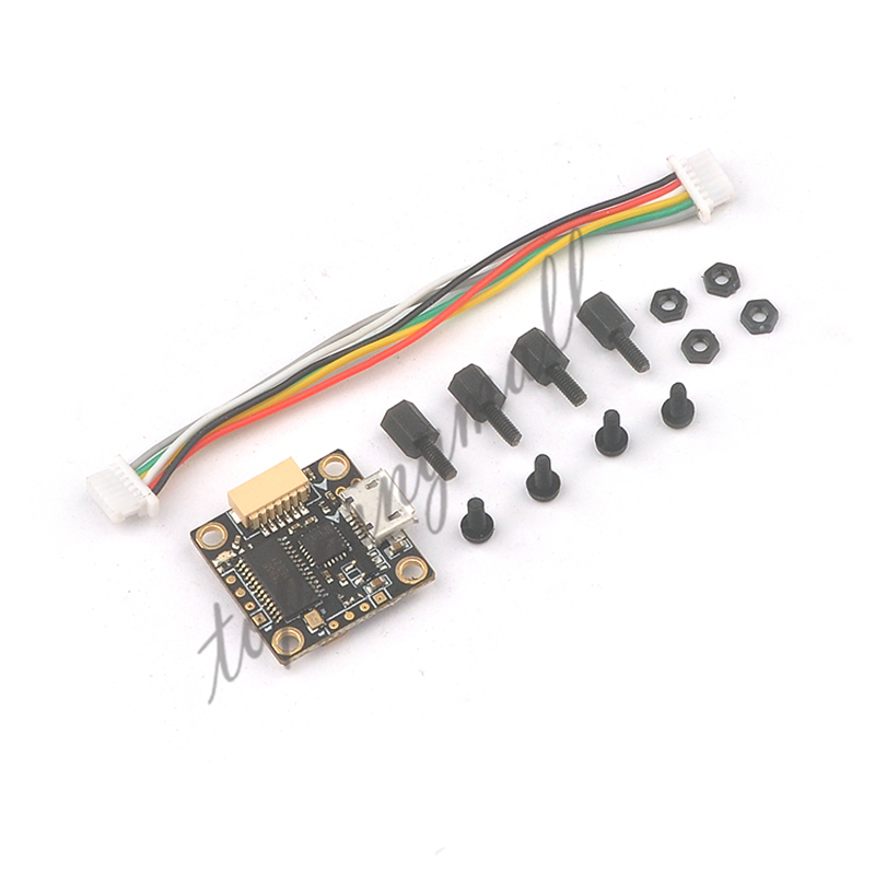 Teeny1s F3 flight controller board intergrated OSD BEC 16*16mm Betaflight STM32F3 for RC Drone Quadcopter jmt betaflight omnibus f3 pro flight controller built in osd bec current sensor for diy rc drone quadcopter