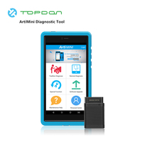 TOPDON ArtiMini Diagnostic Tool Android All System OBDII Scanner Bluetooth Wi Fi with 11 Special Functions OBD2 Coder Reader