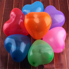 20pcs/lot 12 inch love balloon Christmas ordinary 8 heart wedding Party Balloon Decoration Kid Toy AB211