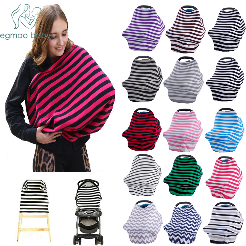 Baby Car Seat Cover Canopy Nursing Cover Multi-Use Stretchy Infinity Scarf Breastfeeding Shopping Cart  Cover High Chair Cover baby car seat cover canopy nursing cover multi use stretchy infinity scarf breastfeeding shopping cart cover high chair cover