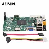AZISHN 4CH 1080P 8CH 960P Security Network NVR Recorder Board ONVIF P2P CMS XMEYE Email Alert