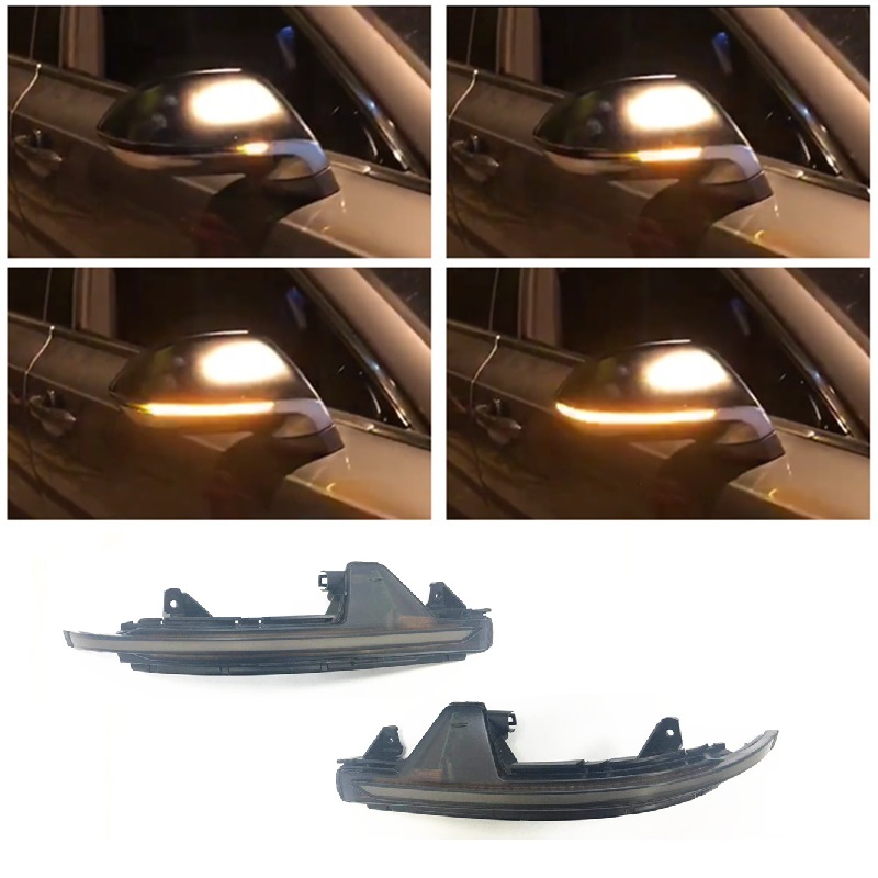 Dynamic LED Blinker Indicator Mirror Turn Light Signal Repeater Suitable for Audi A7 RS7 4G 2011
