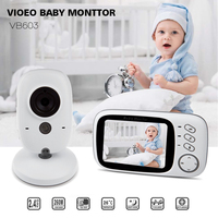 VB603 Baby Sleeping Monitor Baby Camera Monitor With Wireless NightVison Camera Video Baby Monitor Radio Nanny 2 Way Audio Talk