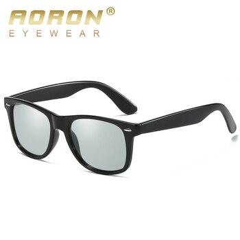 f96801776a AORON Retro gafas de sol gafas de moda Eyecrafters Vintage para hombre  mujer gafas de sol polarizadas de conducción espejo UV400 2140 gafas