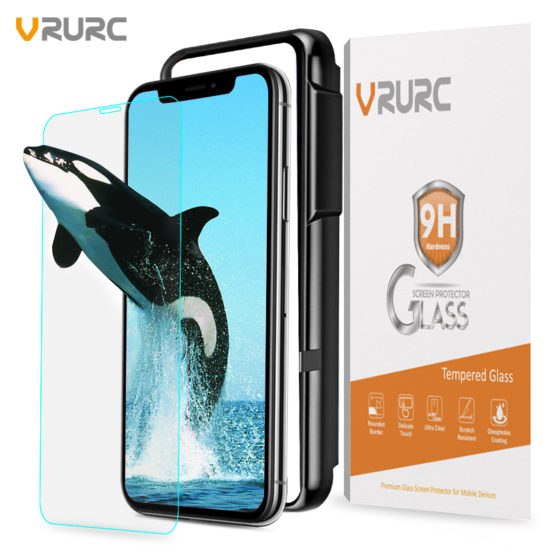 vrurc-9h-anti-dust-tempered-glass-screen-protector-for-iphone-x-glass-film-with-free-fontbapplicator