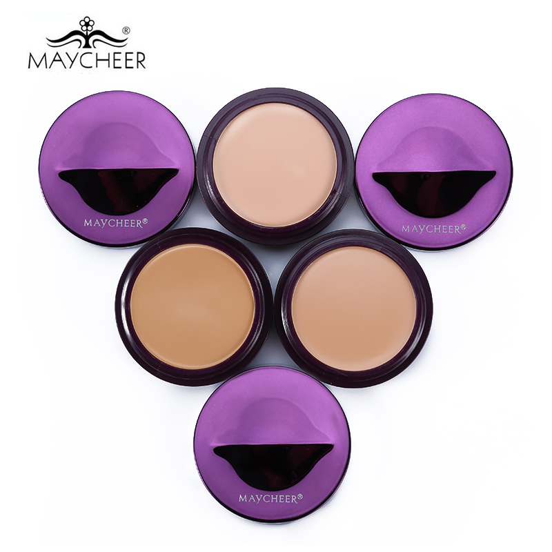 MAYCHEER Brand Cream Concealer Contour Palette Base Makeup Natural Color Face Concealer Foundation Cream Primer Make Up Kit image