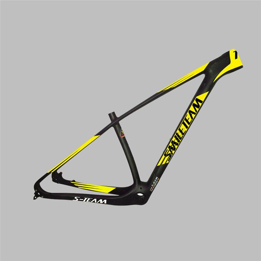 Smileteam Chinese Factory New Model 27.5er/29er Full Carbon MTB Mountain Bike Bicycle Frame 2 Year warranty