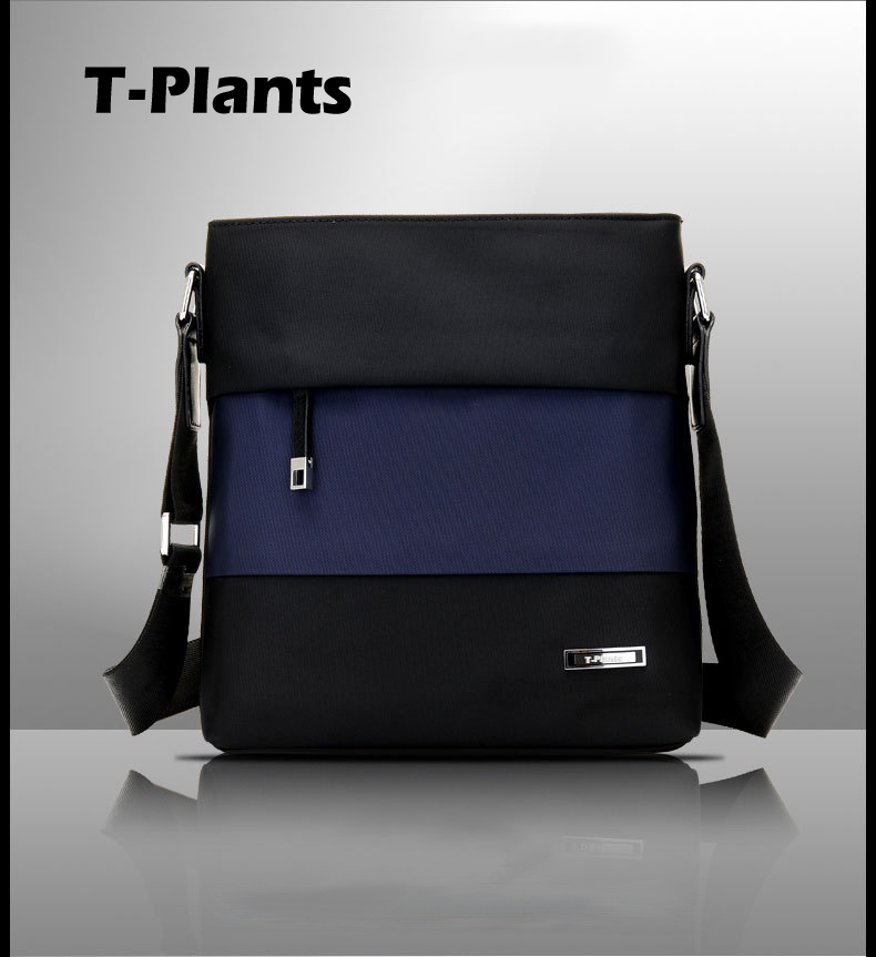 T-Plants Brand Men's Fashion Messenger Bags Male Crossbody Shoulder Bags High Quality Canvas Business Men Travel Bag