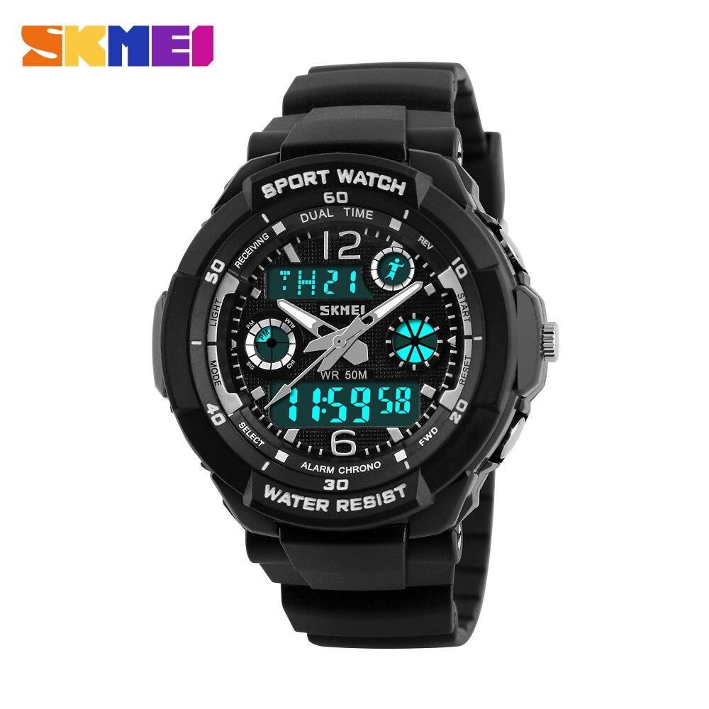 SKMEI Kids Watches Anti-Shock 5Bar Waterproof Outdoor Sport Children Watches Fashion Digital Watch Relogio Masculino 0931 1060