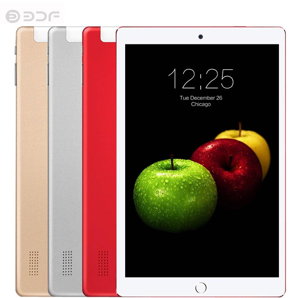 Original 10 pouces IPS LCD Quad Core 4GB RAM 32GB ROM Android 7.0 2 carte SIM Bulilt en 3G Modem langue russe Beeline carte 3G