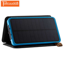 Tollcuudda Solar Power Bank Portable Battery Charger 8000mah Universal Waterproof Powerbank For iPhone Xiaomi Bateria Externa