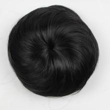 JOY& BEAUTY 16 цветов вьющиеся шиньон термостойкие синтетические волосы на заколках для наращивания диаметр 12 см для женщин