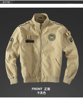 Air Force Style Big Size Jackets Eagle Embroidery Tank Coat Men's Casual Fashion Winter Short Jacket high quality Jacket