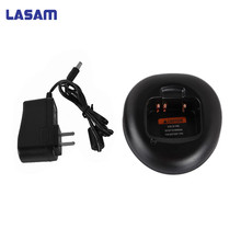 Promo LASAM Desktop charger dock adapter for motorola gp88s/gp308/ct150/ct250/ct450/pro3150/cp250/cp450/cp450ls/p040 walkie talkie