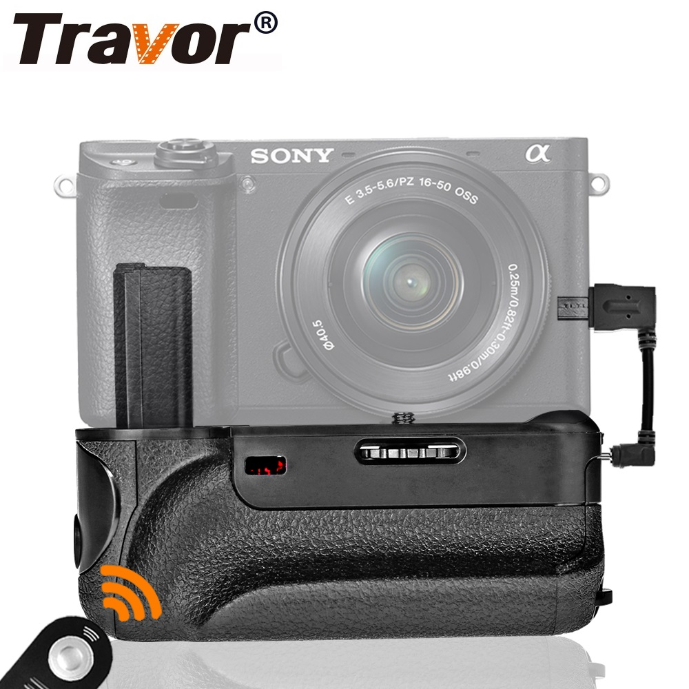 Aliexpress.com : Buy Travor Vertical Battery Grip For SONY A6300 Mirrorless Digital Camera