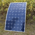 180W semi-flexible solar panel , sun battery with Back side connection box, with MC4, for 12v solar car battery charger