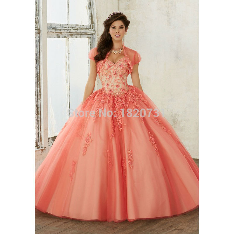Robes Debutante Rose foncé rouge Beaidng doux 16 robes Quinceanera robes robe de bal pour anniversaire Paty Vestido Para 15 Anos
