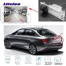 LiisLee для Fiat Tipo автомобильный беспроводной Обратный hd камера Автомобильная резервная камера CCD