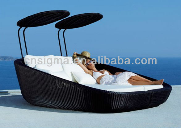 New Sale Outdoor Furniture Outdoor Daybed Hotel Room Outdoor Sun Lounger - New Sale Outdoor Furniture Outdoor Daybed Hotel Room Outdoor Sun