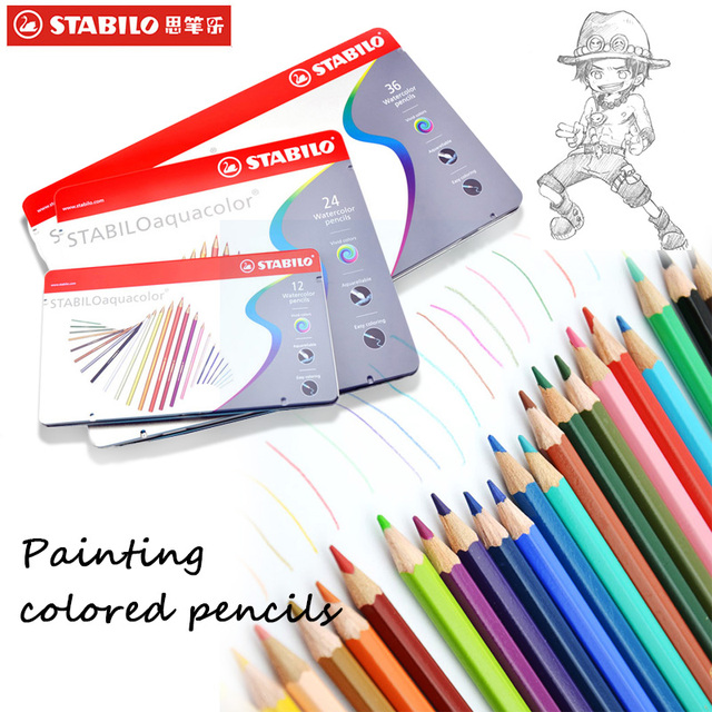 stabilo Colored Pencil Set of Bag Define Christmas Gift to Kid ...