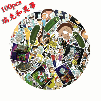 Rick and Morty Stickers - 100Pcs