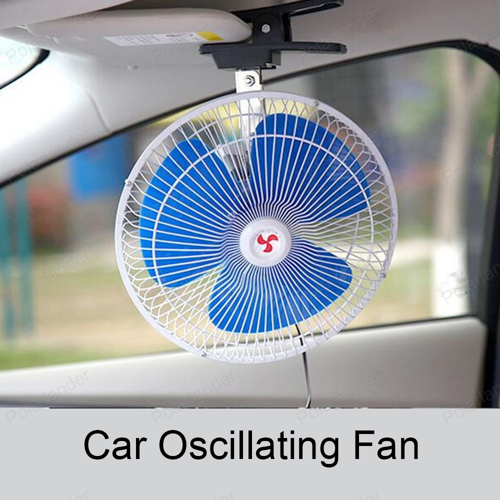 Low Noise 25w Mini Electric Portable Vehicle Car Fan 8