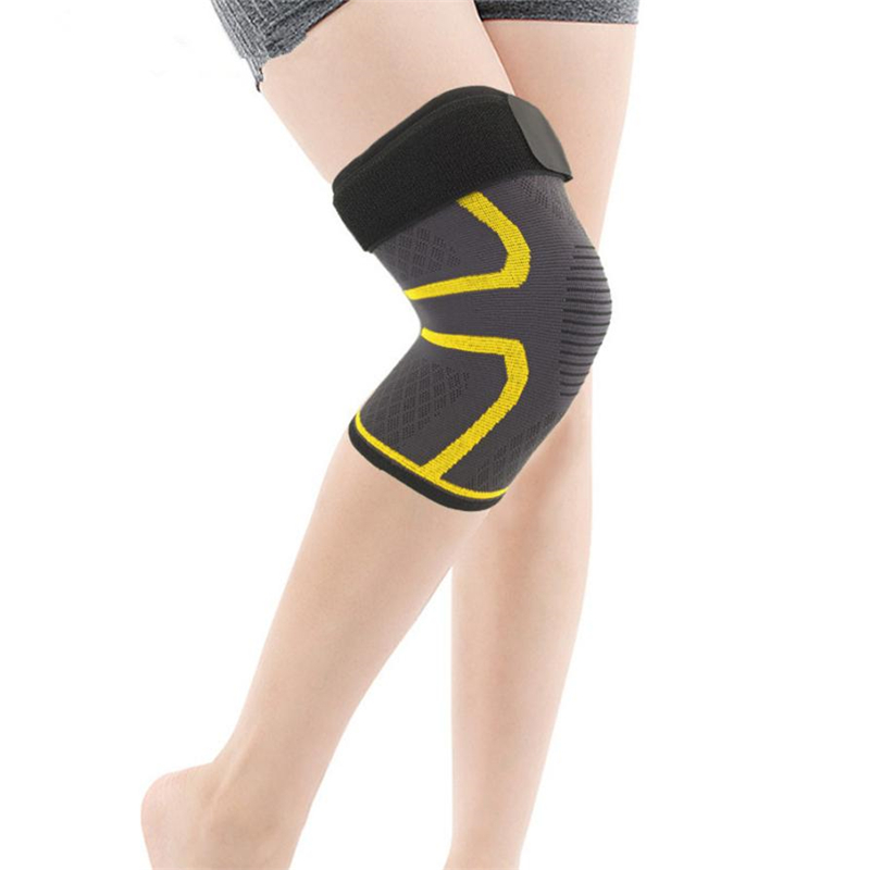 NEW Knee Sleeve Compression Brace Support For Sport Joint Pain Arthritis Relief Adjustable Strap Lightweight Easy Wear C0608*30