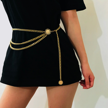 2019 Fashion Women Bikini Waist Chain Sexy Multilayer Geometric Body Belly Chains Summer Beach Jewelry Accessories stylish solid color multilayer chain bikini body chain for women