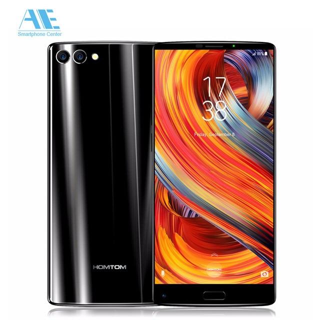 "HOMTOM S9 Plus 5.99"" Tri-bezelless 18:9 HD+ Full Display Cell phone MT6750T Octa Core 4G RAM 64G ROM Dual Back Cam Mobile Phone"