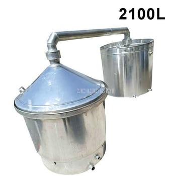 2100L Large Commercial Professional Wine Brewing Equipment Aluminum Liquor Distillation Wine Making Machine 950 Type 1