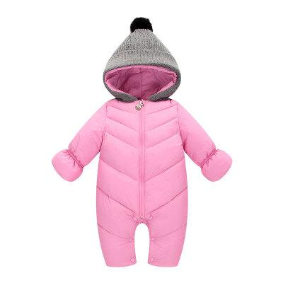 Baby Clothes 2018 New Newborn Warm Baby Rompers Winter Thick Cotton Baby Costume For Lucky Child warm thicken baby rompers long sleeve organic cotton autumn