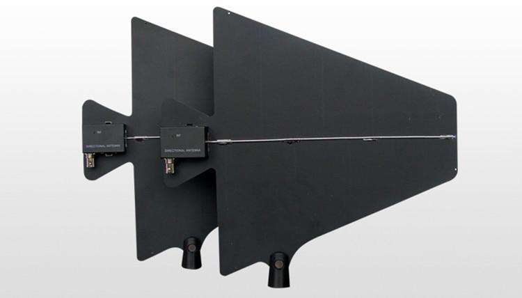 500-950MHz 2 channels 400 meters wireless microphone signal amplifier  antenna distribute antenna power splitter enlarge 400Meter