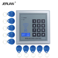 JERUAN High quality and high security Security RFID Proximity Entry Door Lock Access Control System 500 User +10 Keys