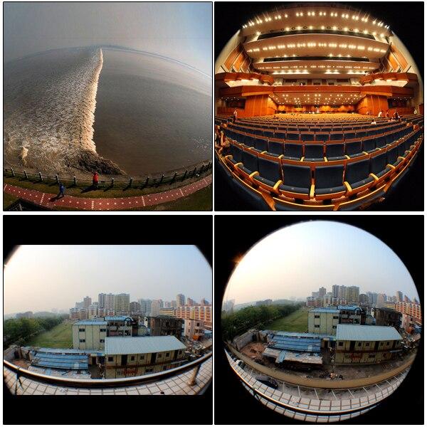 Lightdow 52mm 0.21X lente ojo de pez gran angular + bolsa para Nikon - Cámara y foto - foto 5