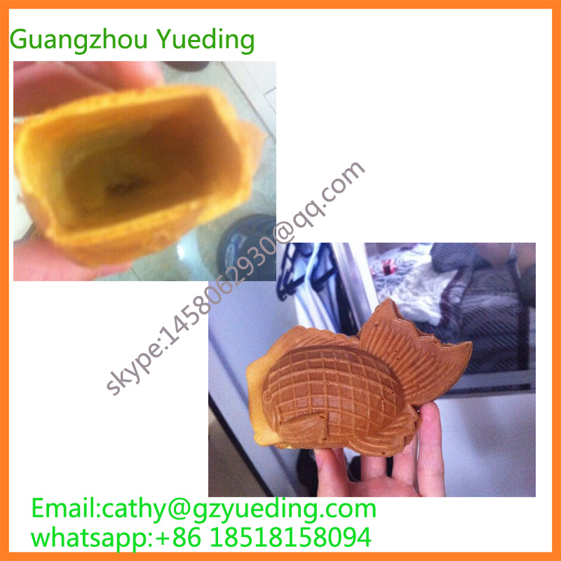 Gas Goldfish waffle maker open mouth fish taiyaki machine taiyaki waffle maker korea street food fish shape with electric open mouth taiyaki waffle maker