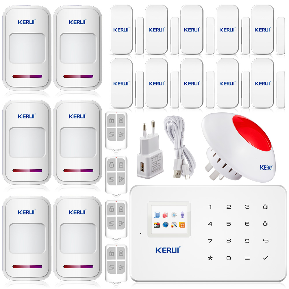 protector home security. high quality home office gsm gprs burglar alarm safety security app protector magnetic sensorchina