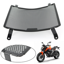 For KTM 790 Duke 2018 2019 Radiator Guard Protector Frames Grille Grill Oil Cooler Cover Protection Black Aluminum