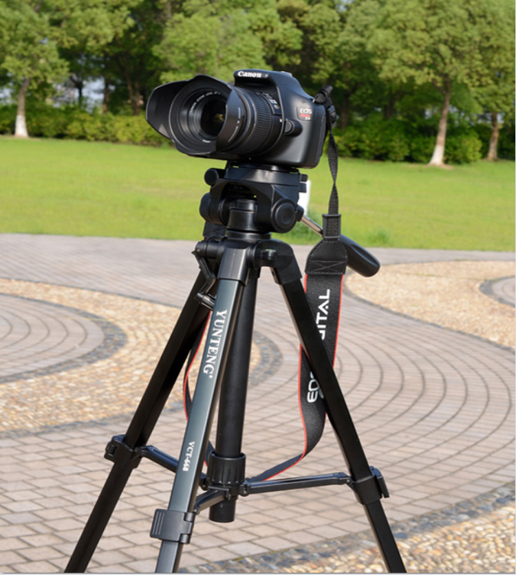 Photography Pro YUNTENG VCT 668 Tripod with Damping Head Fluid Pan camera DV Phone VCR Video