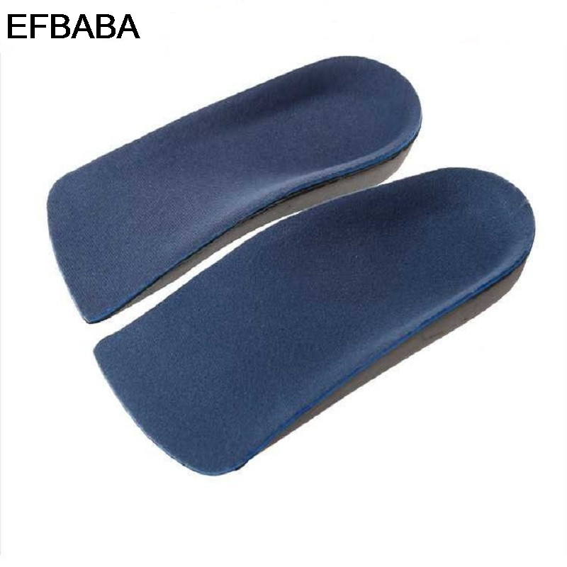 EFBABA Orthopedic Insoles Flat Feet Arch Support Foot Valgus Valgus Correction Eva Heel Pad Orthopedic Shoes Insoles Accessoires expfoot orthotic arch support shoe pad orthopedic insoles pu insoles for shoes breathable foot pads massage sport insole 045
