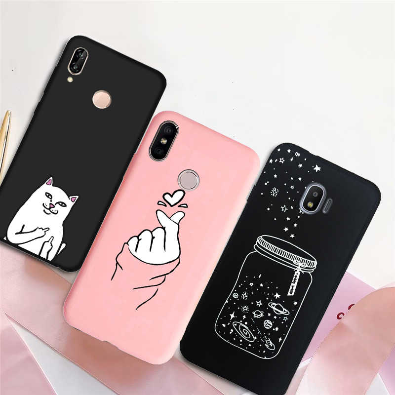 Love Heart Silicone Phone Cover Case for Samsung Galaxy J3 J5 J7 2016 2017 S10e S10 S9 S8 Plus J7 J5 J2 Prime J330F J530F coque