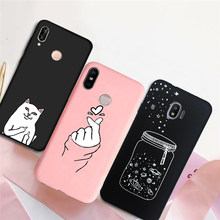 รักหัวใจซิลิโคนสำหรับ Samsung Galaxy J3 J5 J7 2016 2017 S10e S10 S9 S8 Plus J7 j5 J2 Prime J330F J530F coque(China)
