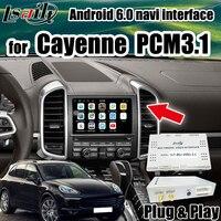Android автомобильный gps для Porsche Cayenne, Panamera PCM 3,1 видео интерфейс Поддержка Android Авто & carplay от Lsailt